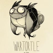 wartortle pokemon tim burton
