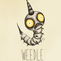 weedle pokemon tim burton