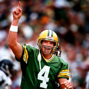 Brett Favre, football's 4.