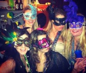 Ms. Julie and Friends at a Mardi Gras you missed.