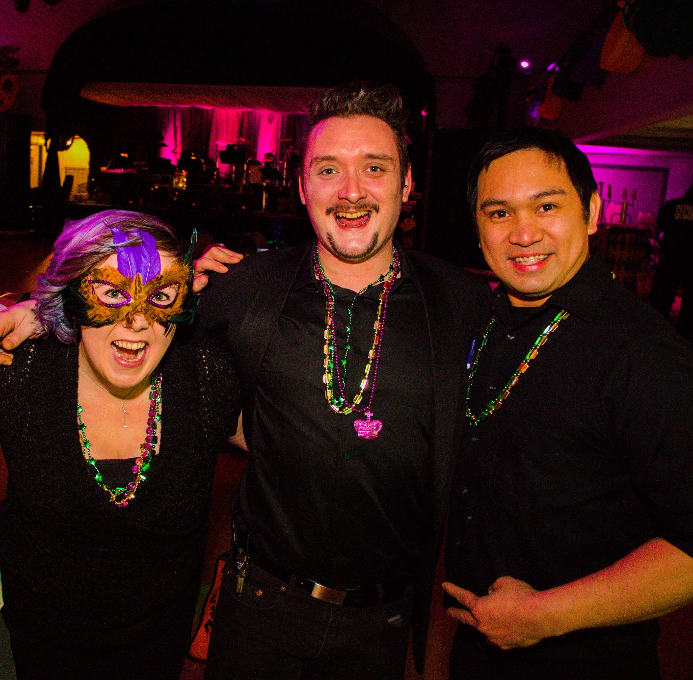 3 of our amazing bartenders from 2017 event