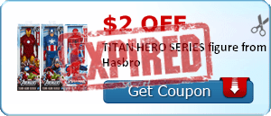 $2.00 off TITAN HERO SERIES figure from Hasbro