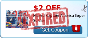 $2.00 off Marvel Captain America Super Soldier