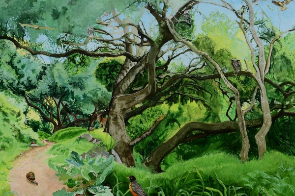2010, oil on canvas, 36 x 48 inches