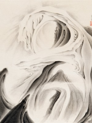 2010, ink on xuan paper, 18.25 x 14 inches