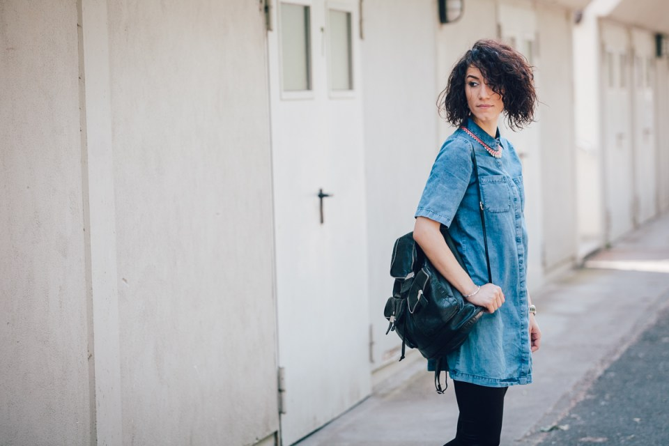 CurlySue in Denim Blue