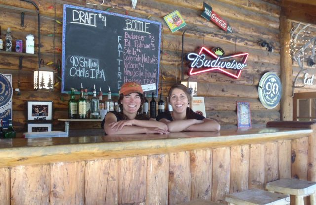 Visit these ladies for apres mountain biking in Almont