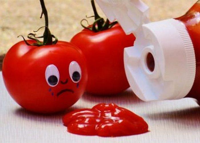 Неожиданно полезно: кетчуп.