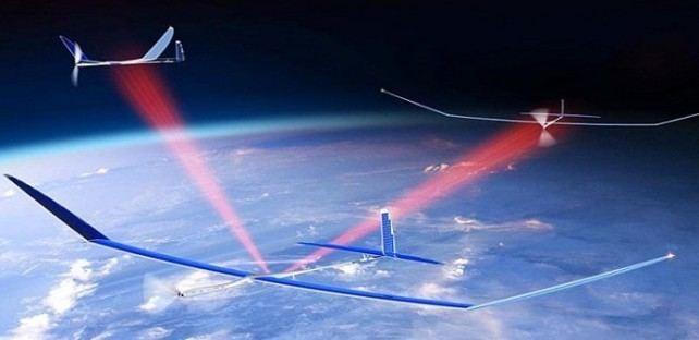 2. Сверхбыстрый 5G Интернет от беспилотников с солнечными панелями Reired, прогноз, технологии