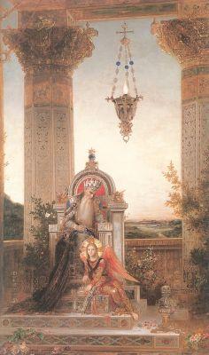 Гюстав Моро. Царь Давид