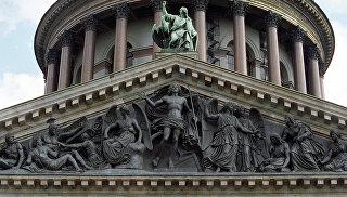 Колоннада Исаакиевского собора. Архивное фото