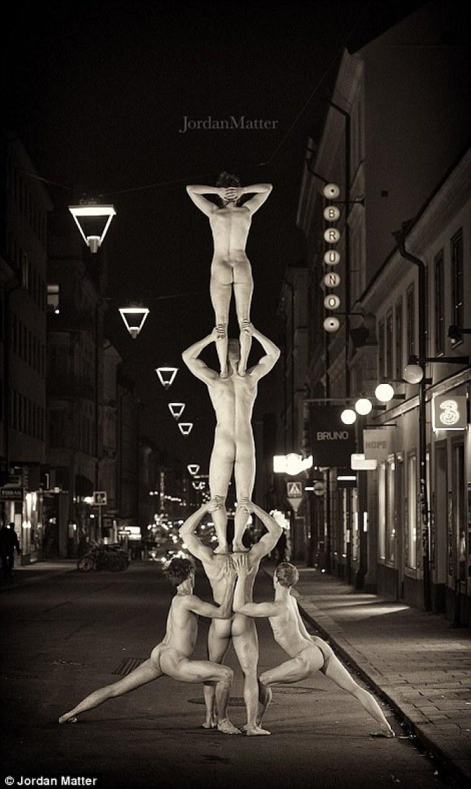 Обнажённые танцоры в фотографиях Джордана Мэттера 21