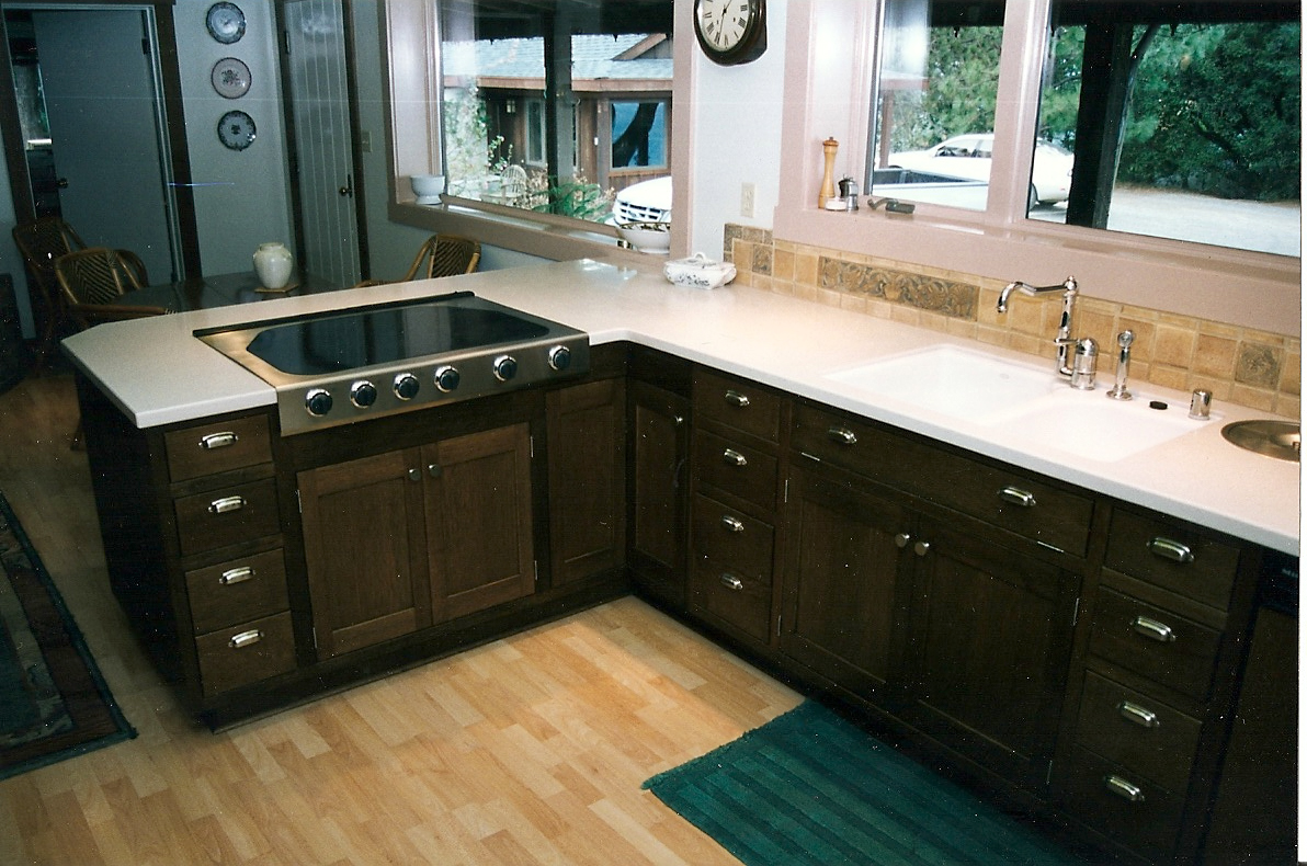 white stained oak kitchen cabinets staining kitchen cabinets White