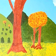 Two Trees In Love by Julie Seelig from MOBA