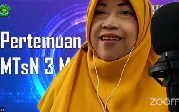 Sukses PPDB Online, MTsN 3 Malang Sosialisasi Peserta Didik Baru Melalui Zoom Metting dan Streaming Youtube