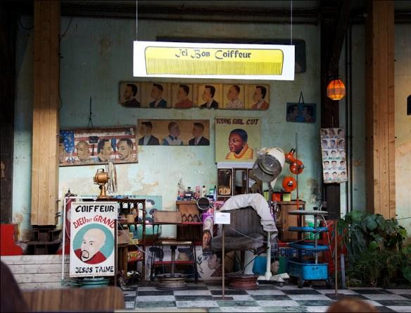 Le Comptoir Général's barbershop; pic: Cynthia Rose