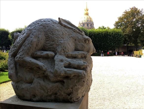 Sculpture by Dewar & Gicquel; pic: Steve Sampson