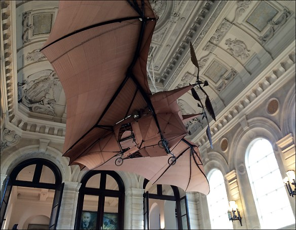 Clément Ader's steam-powered bat plane; pic: Cynthia Rose