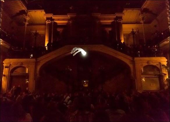 """""""Project Phantom"""", Etienne Saglio, City Hall, 18th; photo: Marc Verhille / Mairie de Paris"""