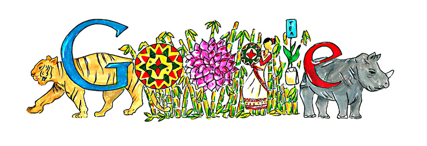 Doodle4Google:Pune girl wins 2014 contest in India