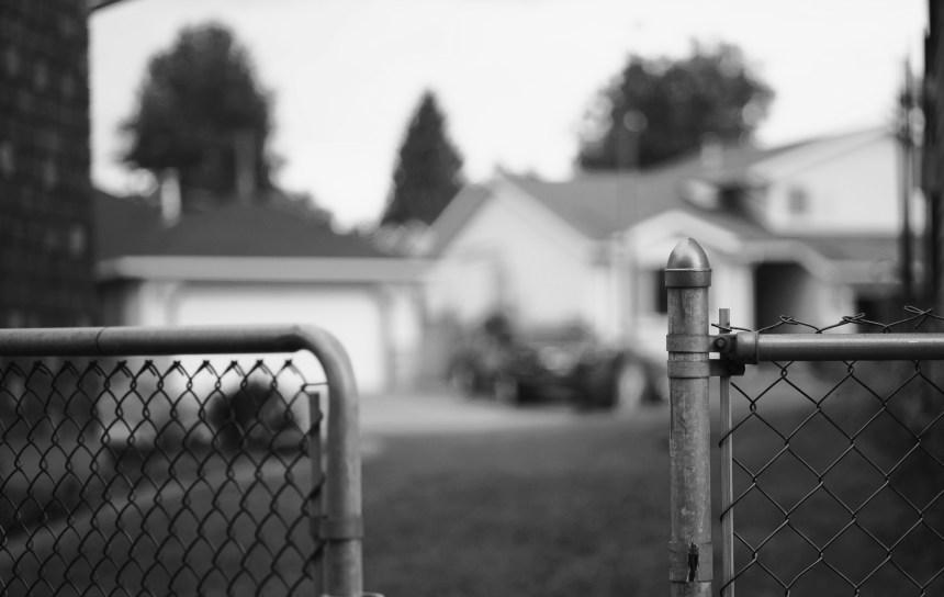 Black and White Neighbor