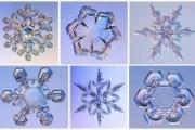 Kar kristallerindeki ilahi ihtişamı görüyor musunuz?