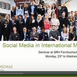 Social Media in International Marketing