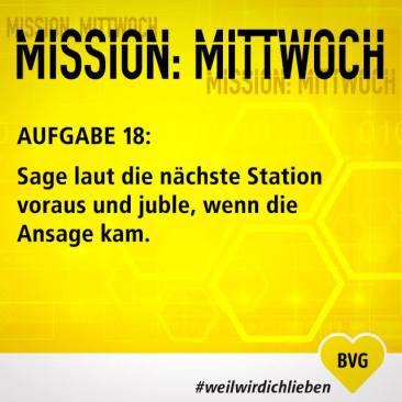 """Aufgabe 18 der """"Mittwochs-Mission"""""""