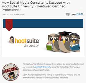 HootSuite Certified Professional Feature with Brian Mulawka