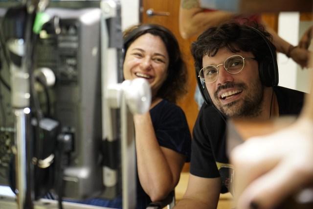 A produtora Tereza Gonzalez e o diretor Ian SBF