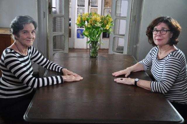 Maria Moniz e Mônica Simões (Foto: Carolina Camara/Divulgação)