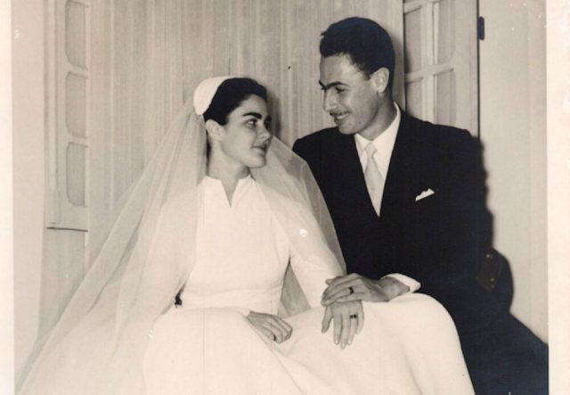 Maria Moniz e Ruy Simões em 1954 (Foto: Optaciano de Oliveira/Divulgação)