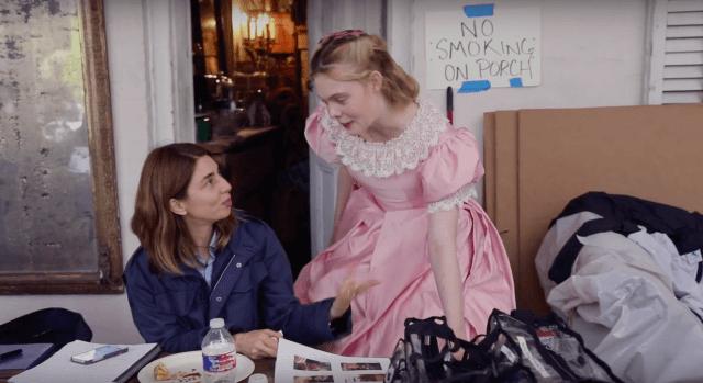 """Sofia Coppola e Elle Fanning no set de """"O Estranho que Nós Amamos"""""""