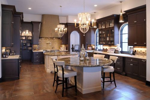 Medium Of Dual Kitchen Islands