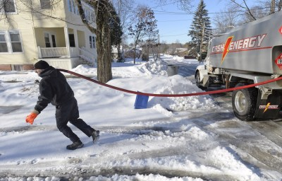 Some Mainers left in cold as ice, snow stymie fuel trucks - Portland Press Herald