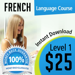 French Level 1 – Instant Download $25