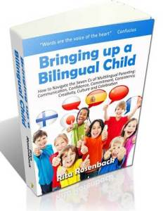 Announcing my book: Bringing up a Bilingual Child