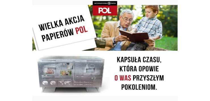 """Co pozostawimy po sobie przyszłym pokoleniom? Rusza akcja """"Wiadomości do przyszłości"""" zorganizowana przez markę Papiery POL"""