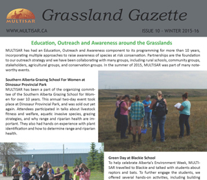 Grassland Gazette Winter 2015-2016