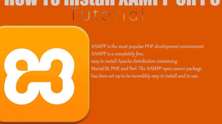 How To Install XAMPP On PC The Correct Way.