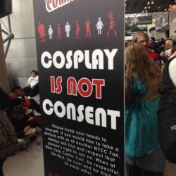 cosplay is not consent