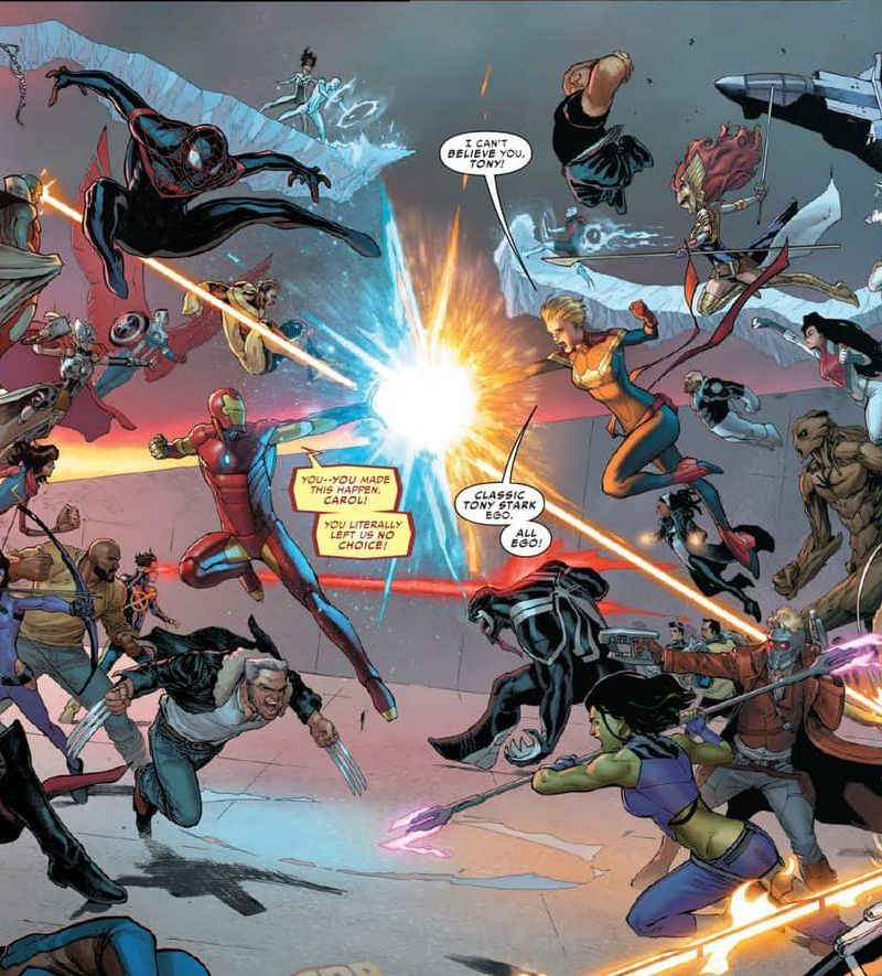 Civil War II 5 Featured