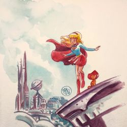 Supergirl Month: Mike Maihack Featured
