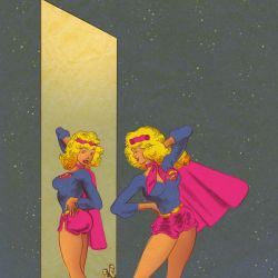 Supergirl Month: Tom Scioli Featured
