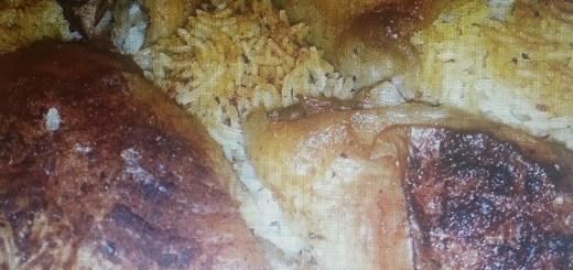 עוף ואורז בתבנית אחת בתנור