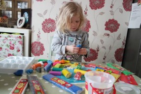 Plasticine Softeez fun with Isla Rae