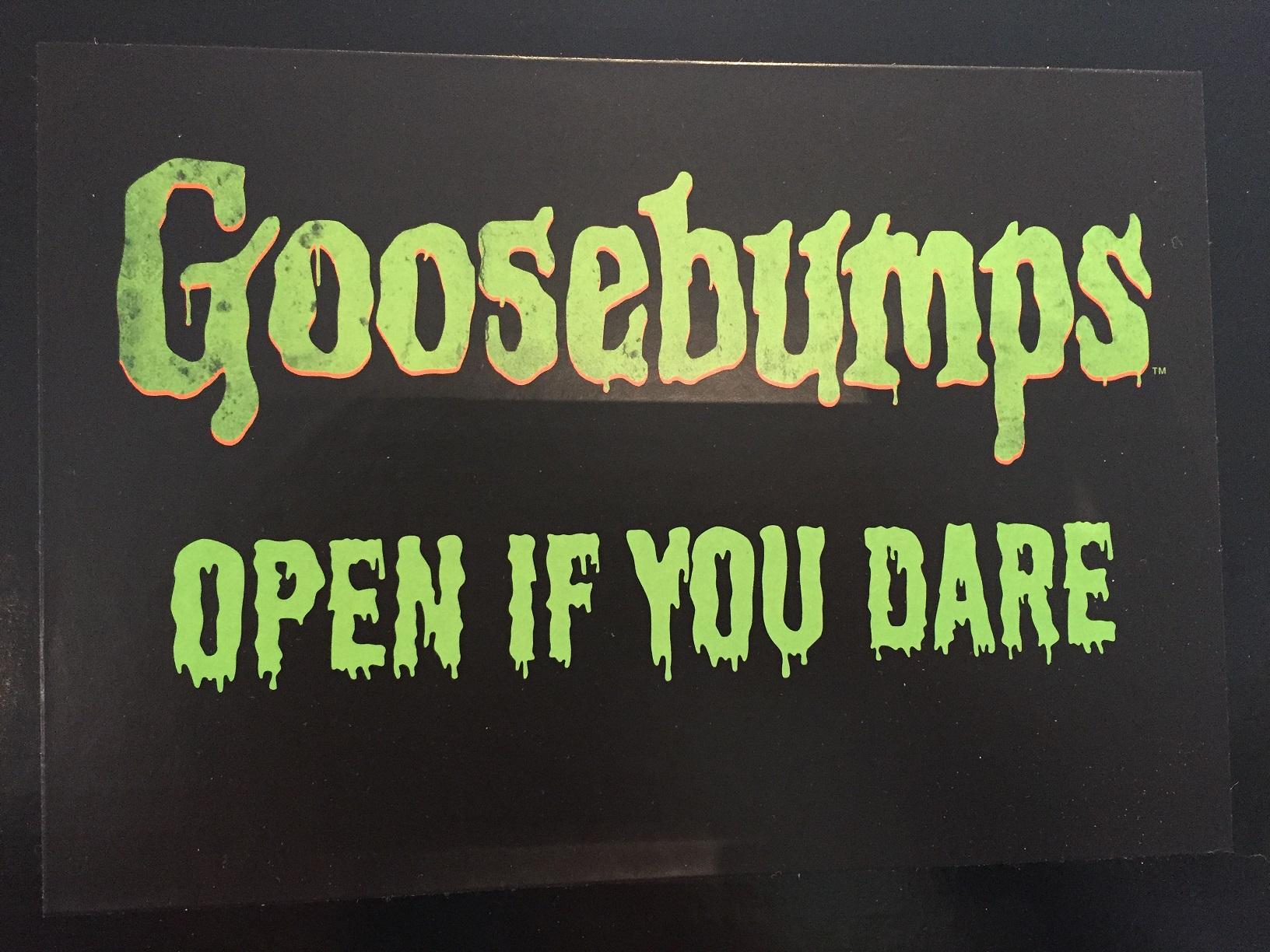 Goosebumps the movie – starring Jack Black