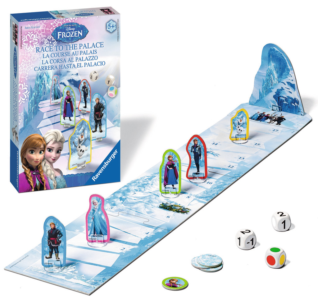 Ravensburger Frozen Race to the Palace game