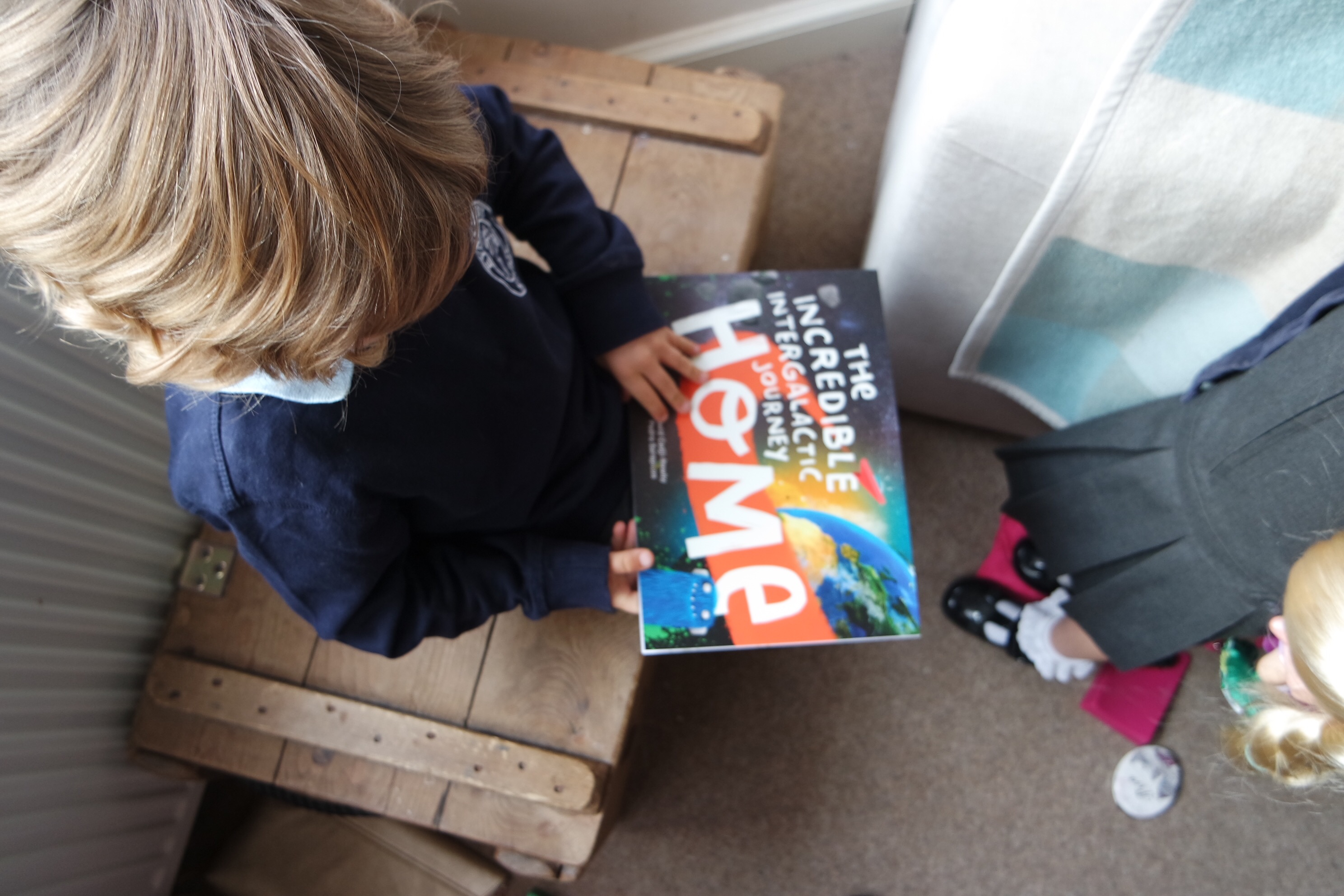 The incredible intergalactic journey home book review