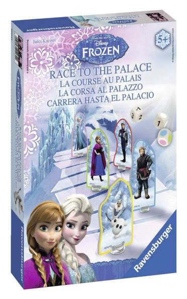 Frozen race to the palace x